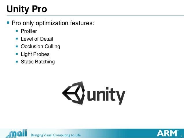 Unite 2013 optimizing unity games for mobile platforms