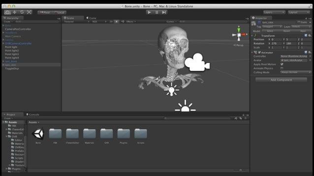 DICOM 3D Model Polygon reduction VR Application