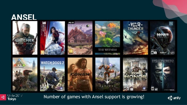 Unite 2017 Tokyo】NVIDIA Gameworks アップデートおよびAnselとVRWorks
