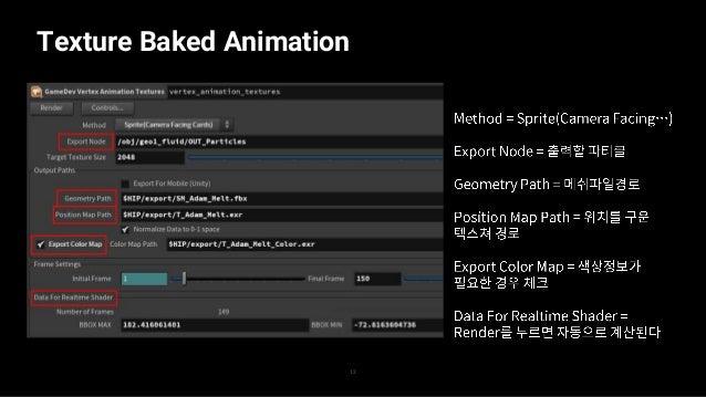 Texture Baked Animation 13 — — — —