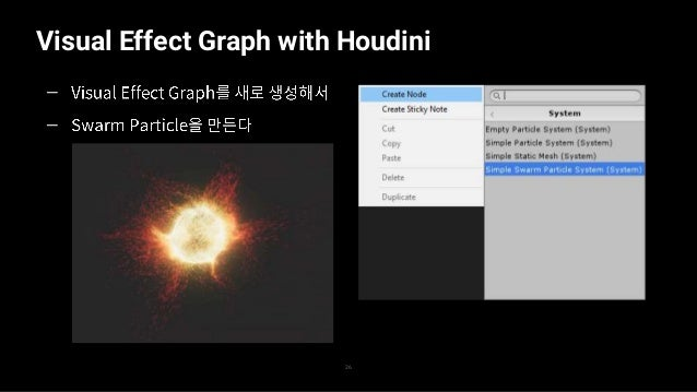 Visual Effect Graph with Houdini 27 — —