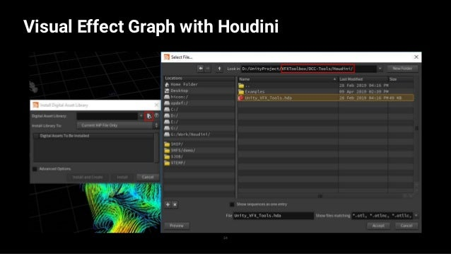 Visual Effect Graph with Houdini 35 — — —