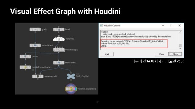 Visual Effect Graph with Houdini 38 — —