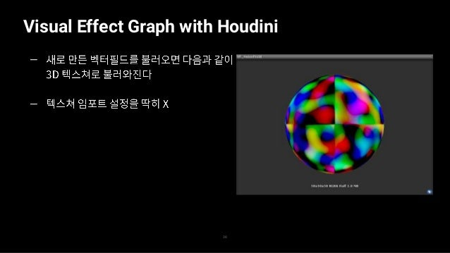 Visual Effect Graph with Houdini 39 — — —