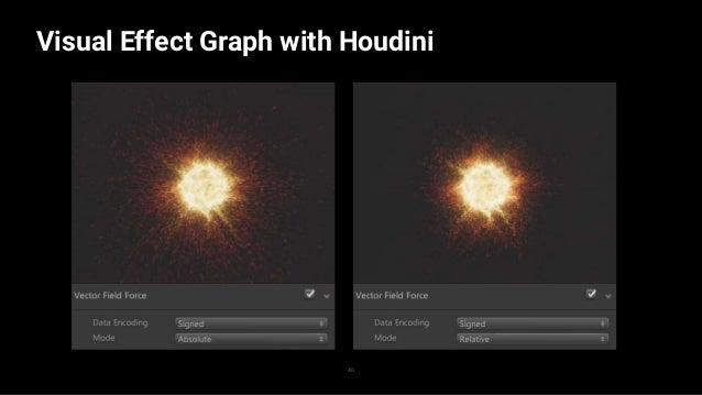 Visual Effect Graph with Houdini 41 —