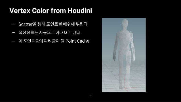 Vertex Color from Houdini 44 — — —