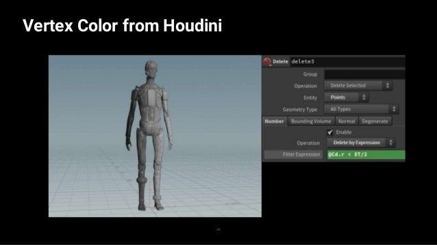 Export from Houdini 49 → FBX Export → Pcache Export