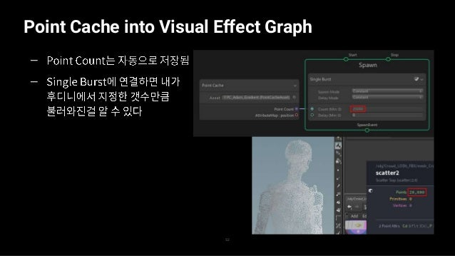 Point Cache into Visual Effect Graph 53