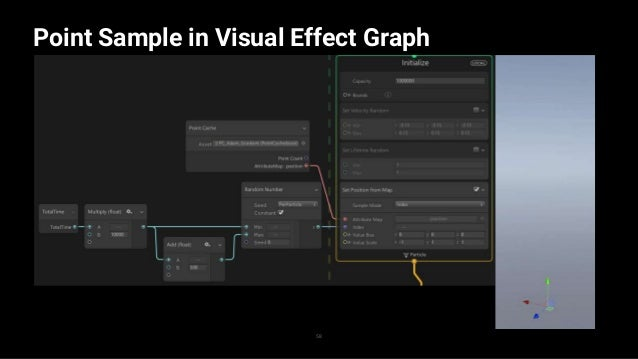 Point Sample in Visual Effect Graph 59