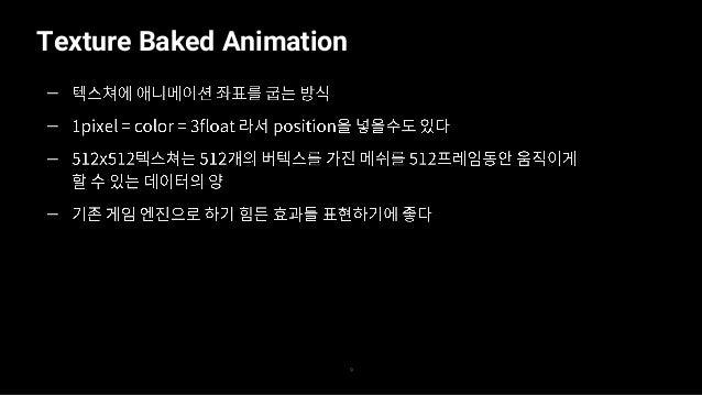 Texture Baked Animation 10 — — — —
