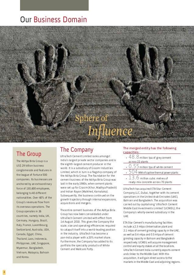 Ultratech Cement Foundation : Unitech annual report