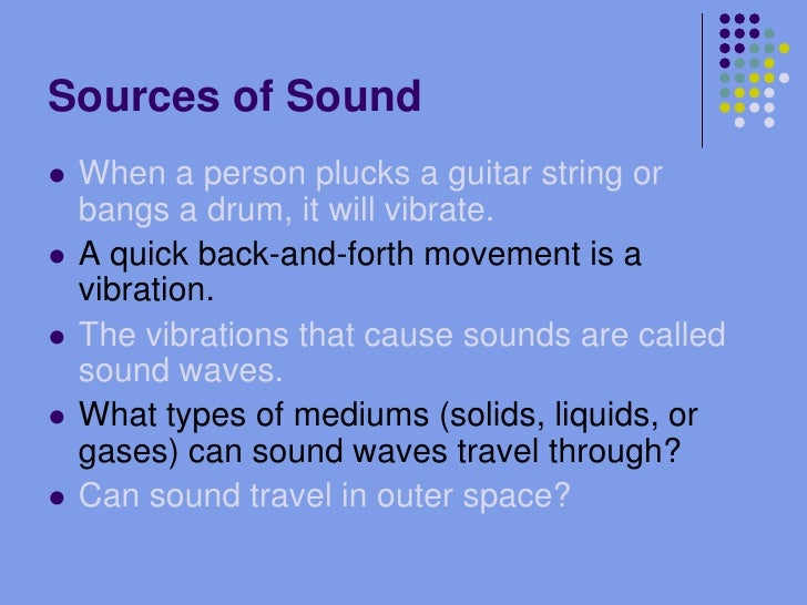 In What Mediums Can Sound Waves Travel Light Waves