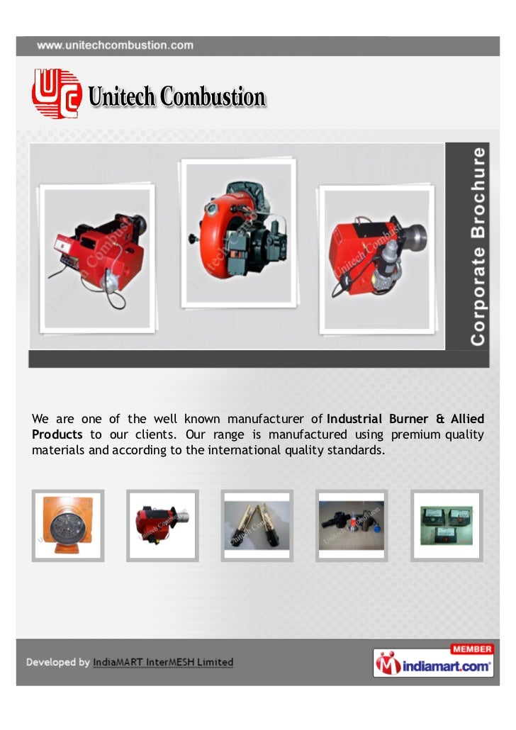 We are one of the well known manufacturer of Industrial Burner & AlliedProducts to our clients. Our range is manufactured ...