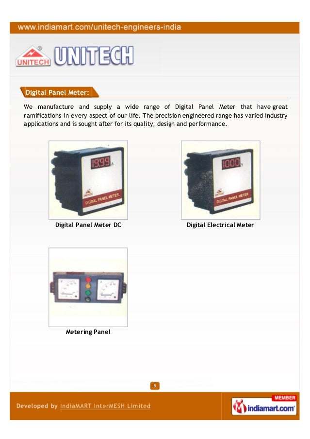 Digital Panel Meter:We manufacture and supply a wide range of Digital Panel Meter that have greatramifications in every as...
