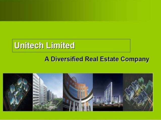 • Overview of Unitech – Redefining Workplace – Unitech Presence – Premiere Clientele – BTS Options executed • Project Deta...