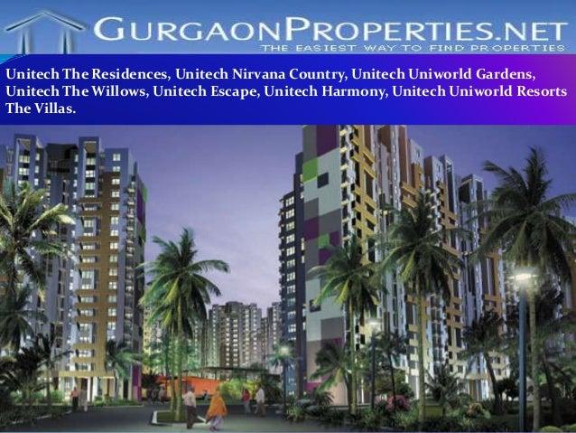 Unitech Project In Gurgaon