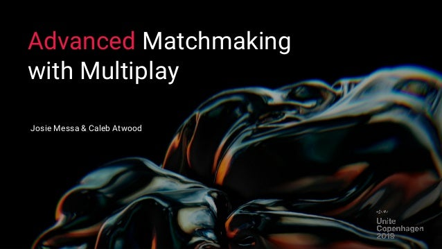 Matchmaking multiplayer Unity3D