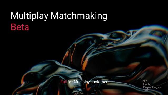 Matchmaking unité ne fonctionne pas