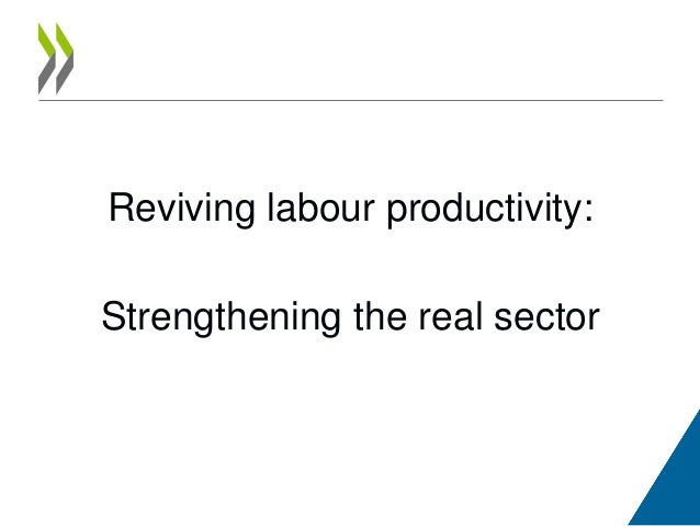 Reviving labour productivity: Strengthening the real sector