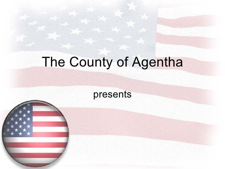 Free United States Of America Flag Powerpoint Template