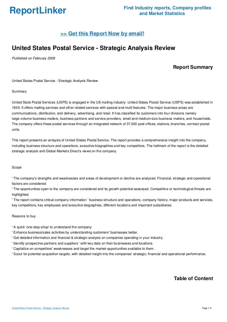 """an analysis of the united states postal service A proposal to create a """"hybrid"""" united states postal service would  and an  analysis of that paper funded by pitney bowes, a shipping and."""