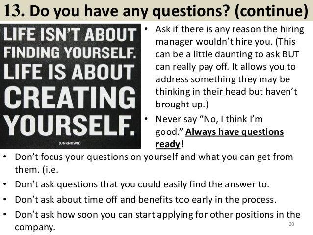 top 20 behavioral interview questions