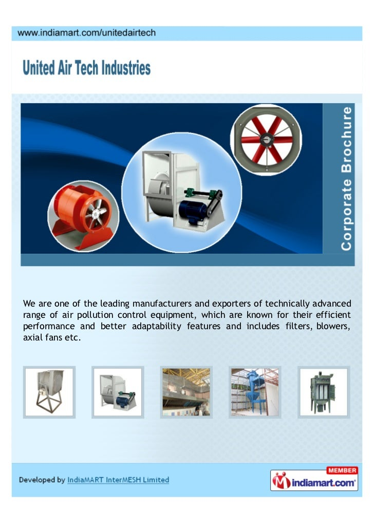 We are one of the leading manufacturers and exporters of technically advancedrange of air pollution control equipment, whi...