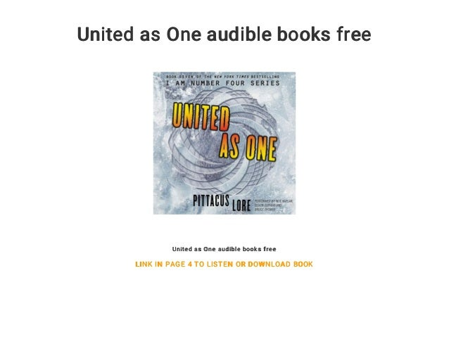 United as One audible books free