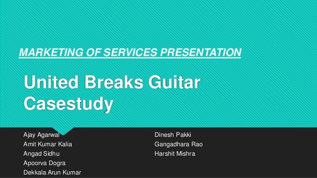 united breaks guitar case View pease - united breaks guitars from bme 213634 at suny empire state united breaks guitars case analysis megan pease bme-213634 | george scot pease | 2 executive summary united breaks.