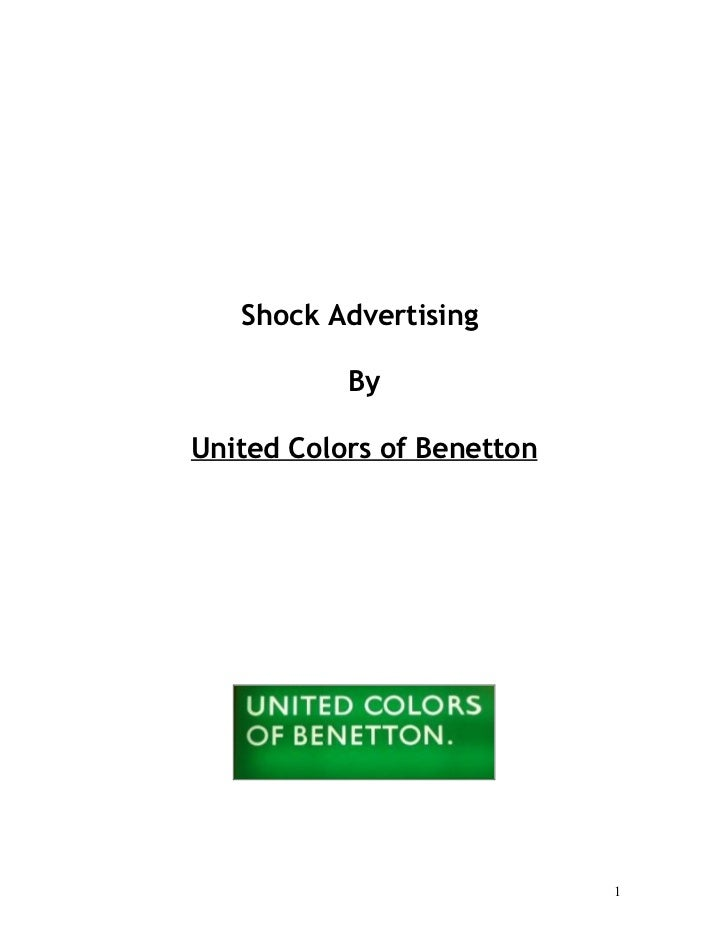 The united colors of benetton case study essay