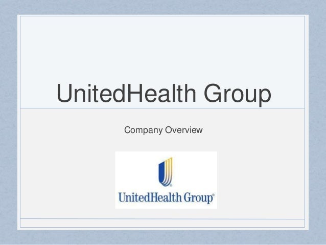 UnitedHealth Group  Company Overview