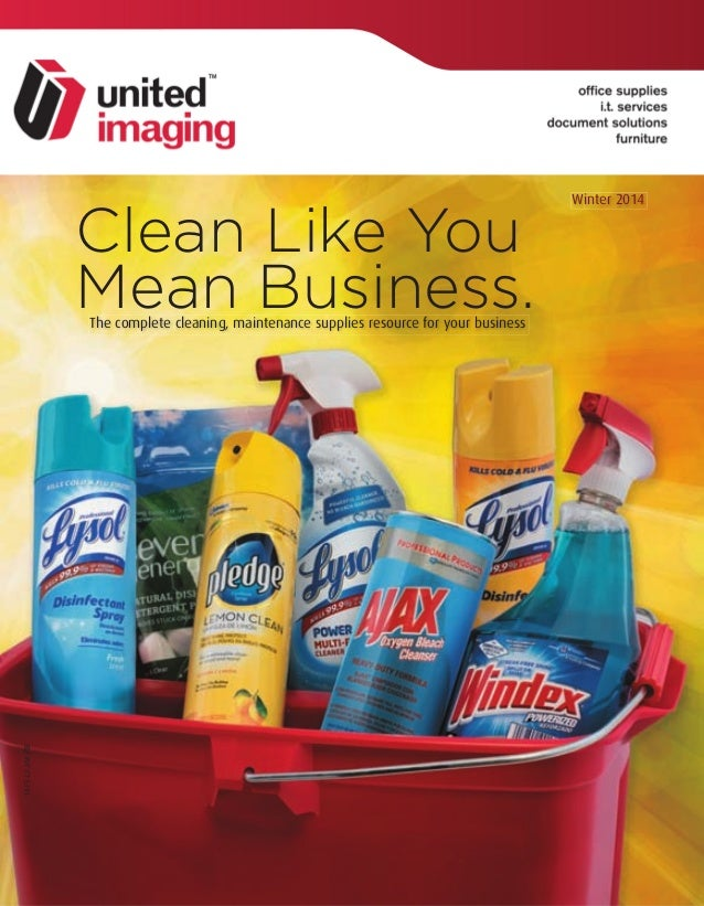 Clean Like You Mean Business.The complete cleaning, maintenance supplies resource for your business 14-FS-L2-J/M-FSE Winte...