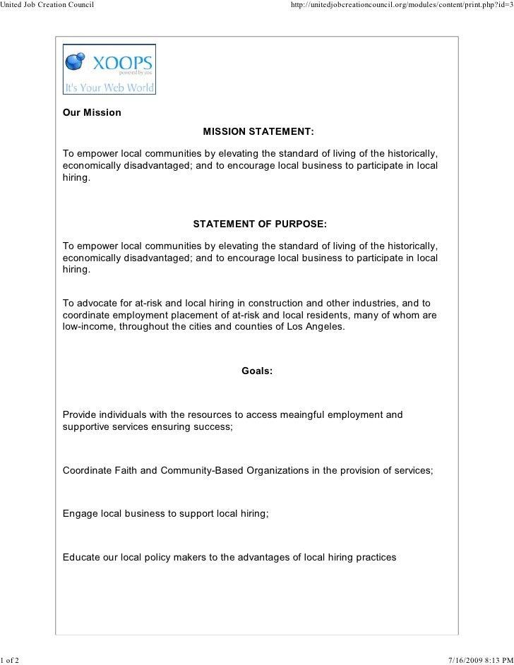 United Job Creation Council                                         http://unitedjobcreationcouncil.org/modules/content/pr...