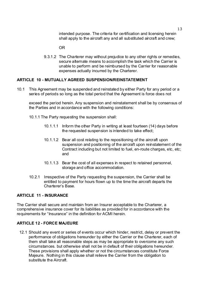 United Nations Charter Agreement