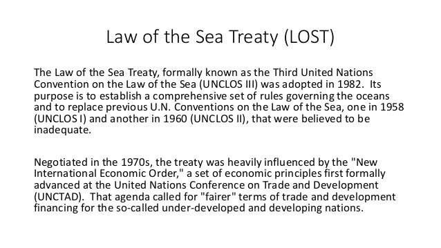 Law of the Sea, Environmental Law and Settlement of Disputes