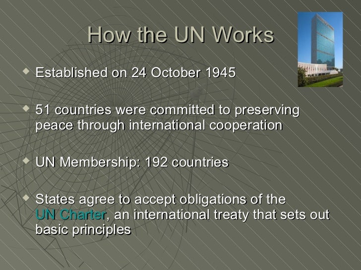 Role of United Nations in Conflict Resolution