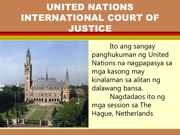 trivia ukol sa united nations Binanatan ni sen tito sotto si united nations special rapporteur agnes callamard at ibang un experts na nanawagang tugunan ng gobyerno ang mga paglabag sa karapatang pantao.