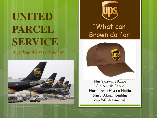 united parcel services United parcel service (ups), inc - hourly rate - get a free salary comparison based on job title, skills, experience and education accurate, reliable salary and compensation comparisons for .