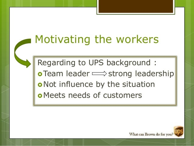 optimizing operations at united parcel service essay Read this essay on strategic planning at united parcel service come browse our large digital warehouse of free sample essays get the knowledge you need in order to pass your classes and more.