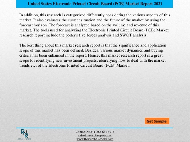 Future Trend & Forecast Of Electronic Printed Circuit Board