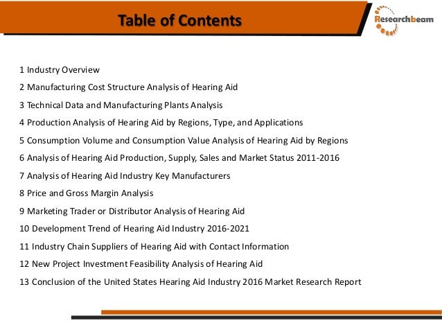 United states hearing aid industry 2016 Slide 3