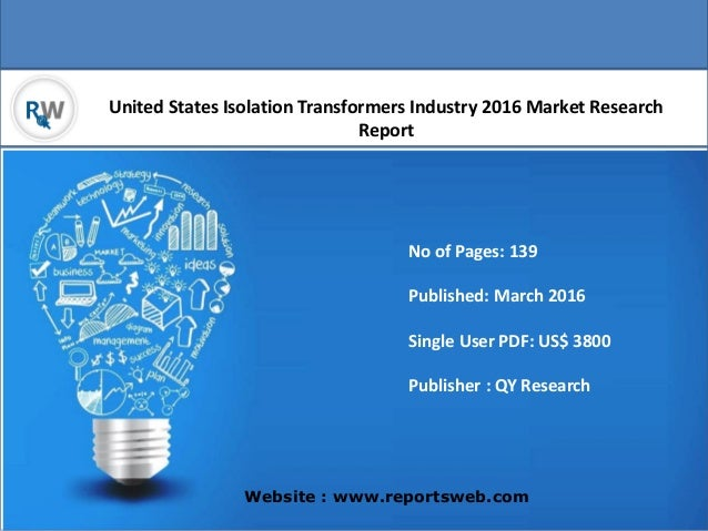 United States Isolation Transformers Market Research Report