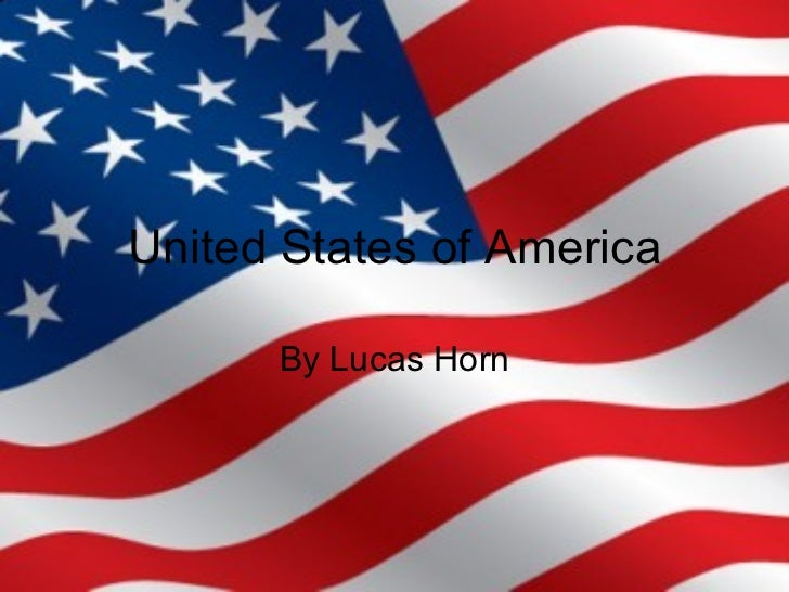 United States of America By Lucas Horn