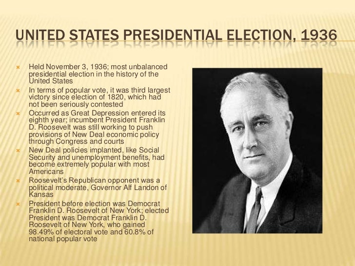 United States presidential elections of 1932-1964