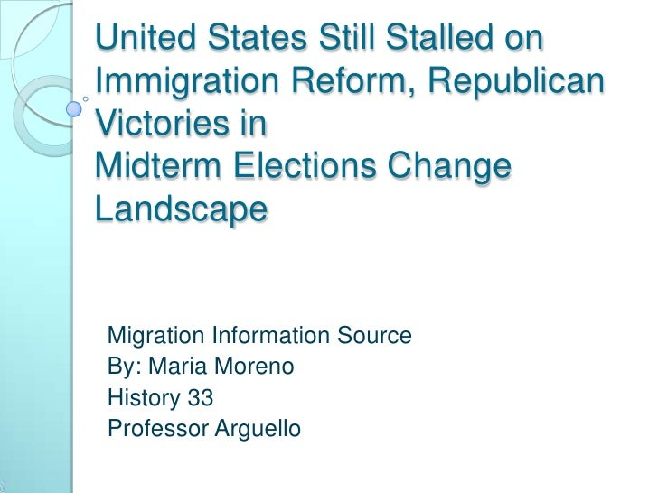 """the importance of immigration reform in the united states As the us commission on immigration reform wrote in a report to congress in 1997, """"naturalization is the most important act that a legal immigrant undertakes in the process of becoming an american taking this step confers upon the immigrant all the rights and responsibilities of civic and political participation that the united states has."""