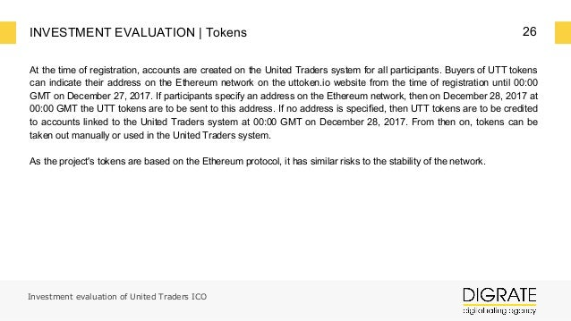 United Traders Token crypto review