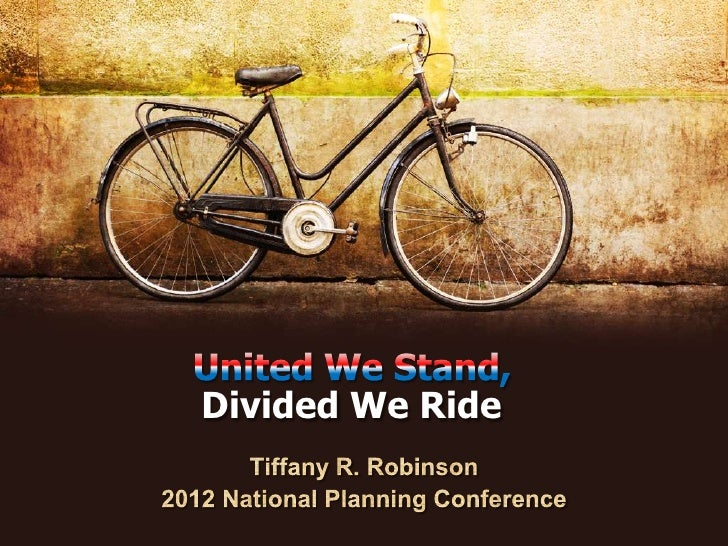 Divided We Ride