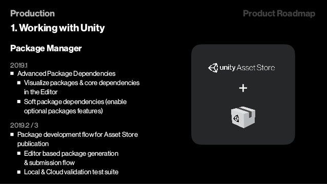 Unite Los Angeles 2018 - Unity 2019 R&D Roadmap