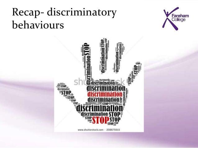 how to challenge discrimination in schools