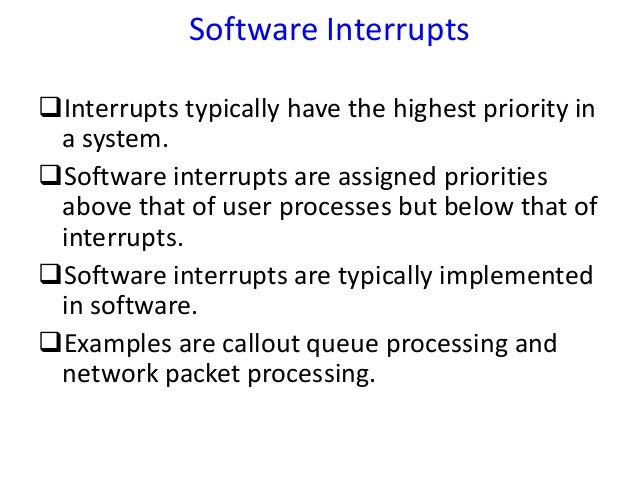 interrupt and a trap in an operating system essay Essay operating system and network administration  operating system essay  what are the differences between a trap and an interrupt can traps be generated .